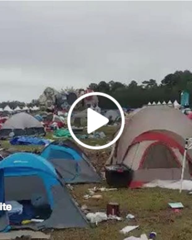campground Video image at TomorrowWorld