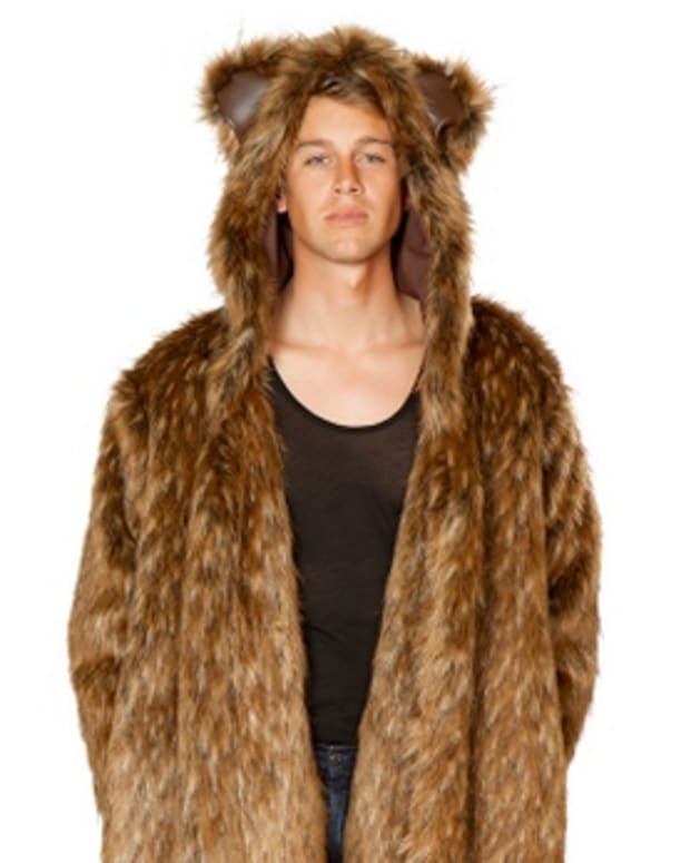 bear robe costume