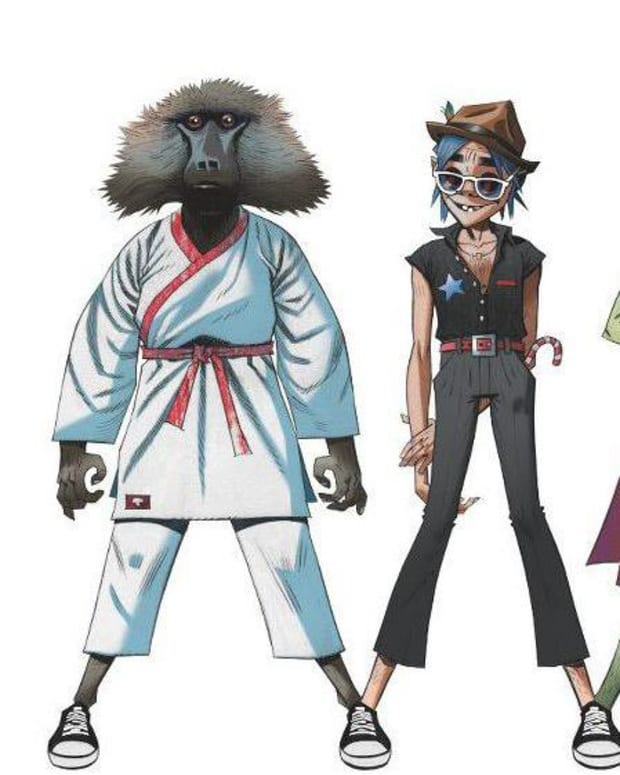 Gorillaz band photo