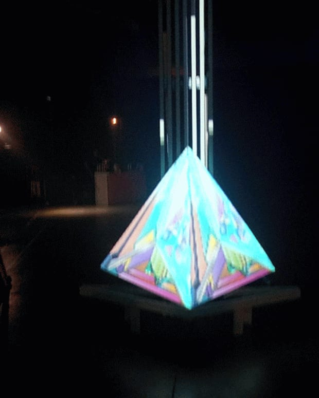 Pyramid at III Points