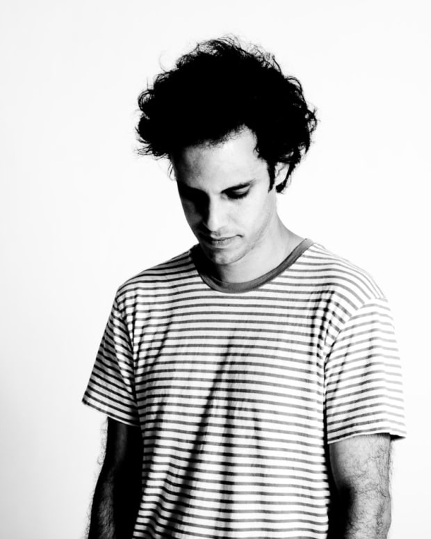 Four Tet Press Photo Black & White