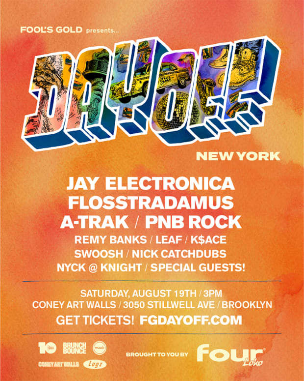 Fool's Gold Day Off New York 2017 Lineup