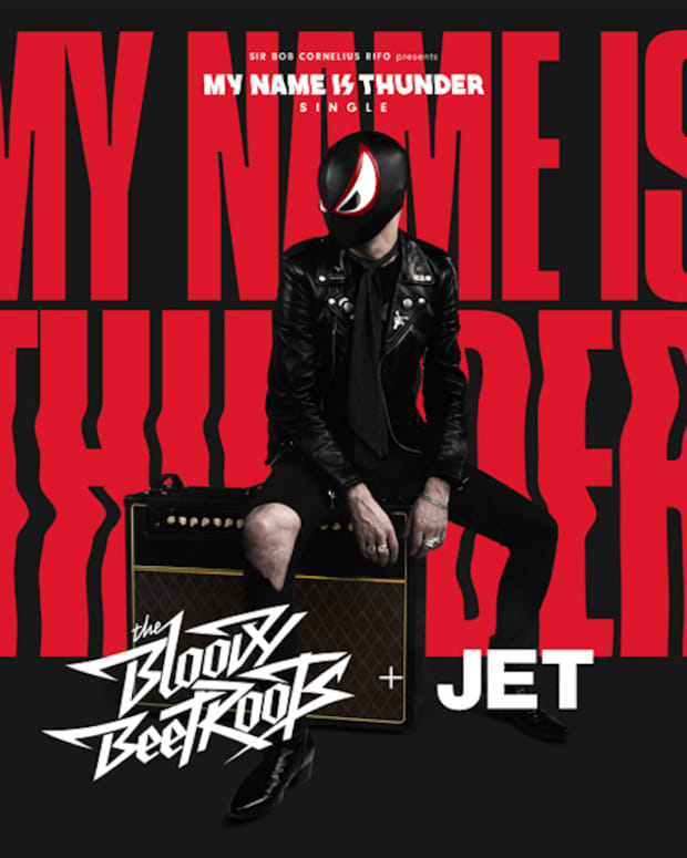 The Bloody Beetroots & Jet My Name Is Thunder