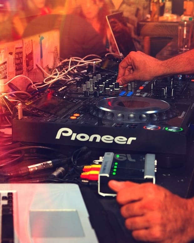 Stock DJ Image