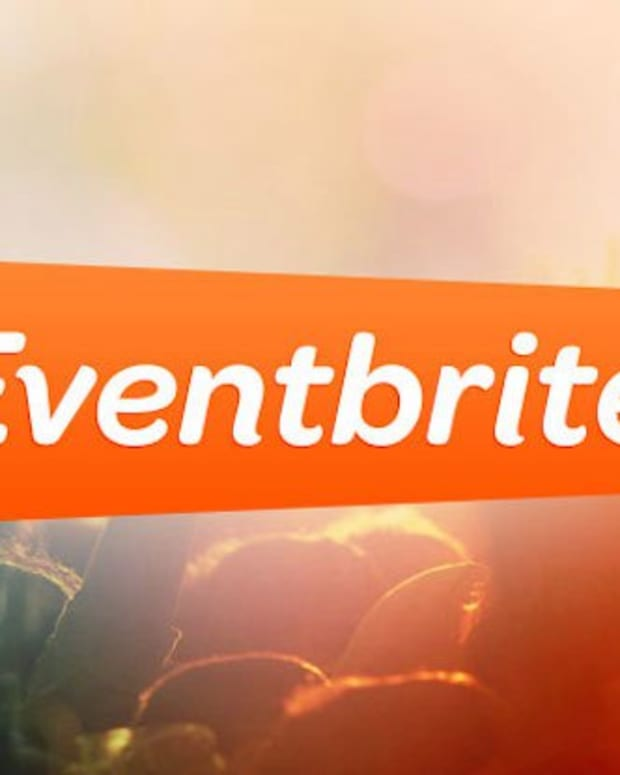 Eventbrite logo rave electronic music event crowd