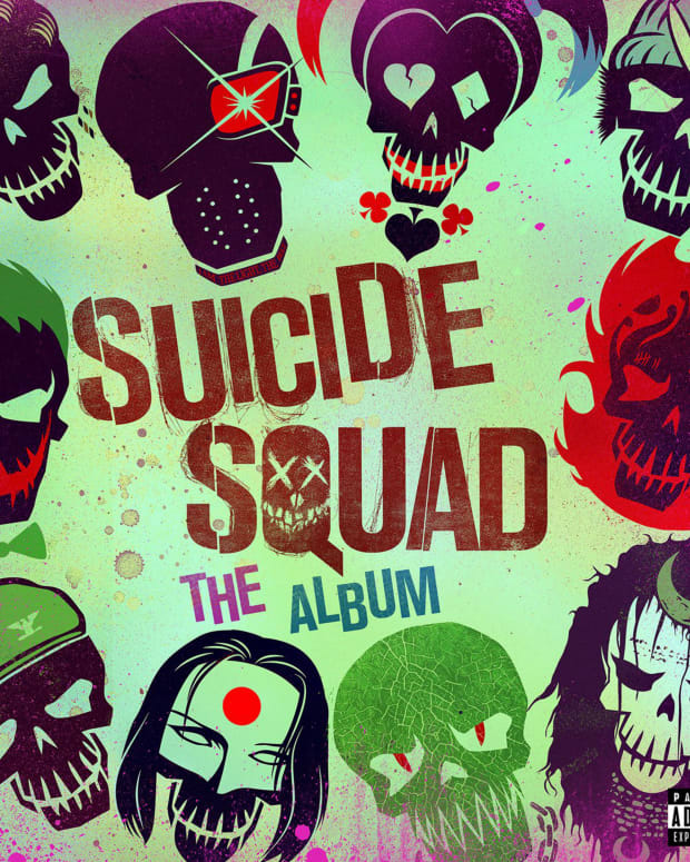 Suicide Squad Album Cover