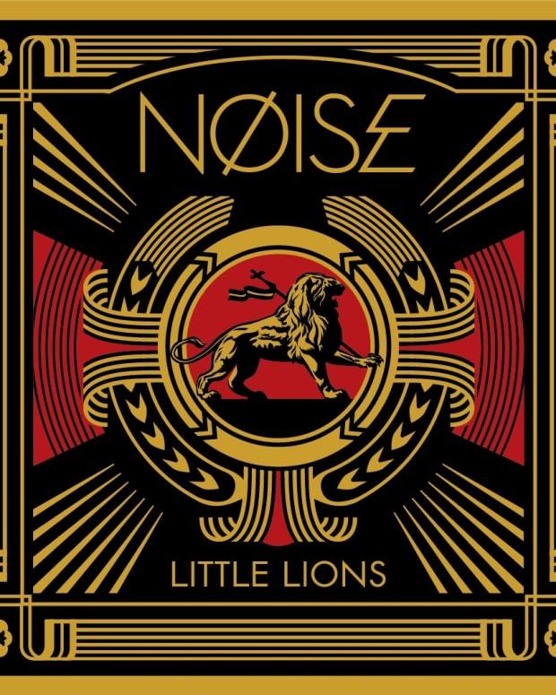 """Shepard Fairey/NØISE """"Little Lions"""" Single Art"""
