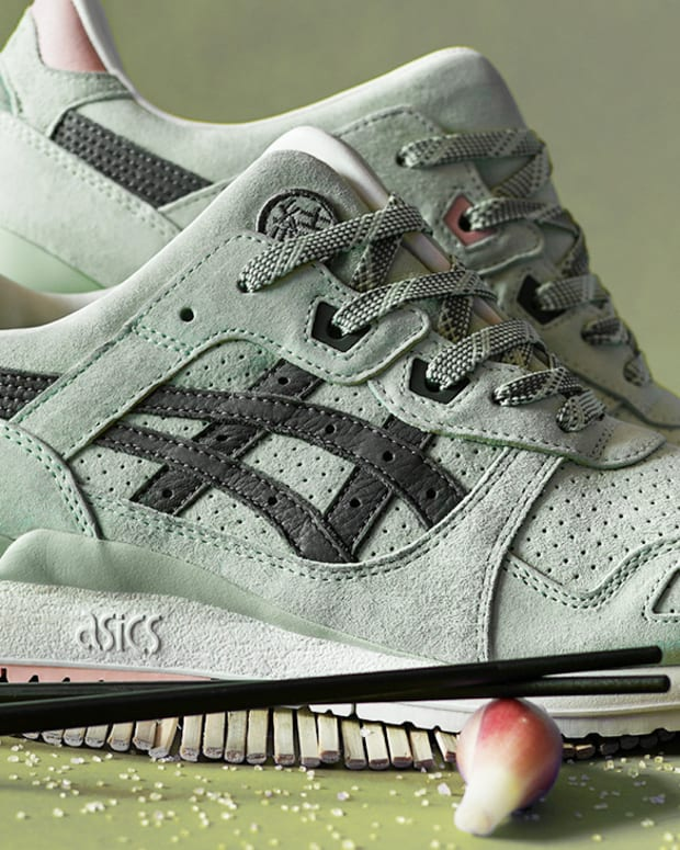 Asics x END. Gel Lyte III 'Wasabi' Pack