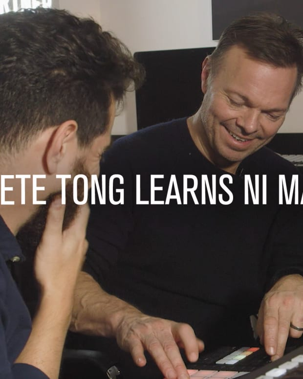 Pete Tong Maschine Point Blank