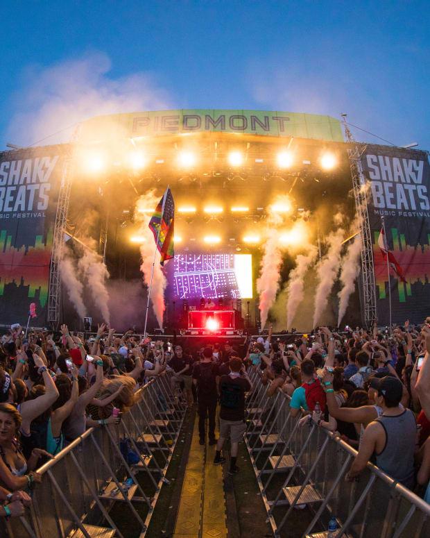 Shaky Beats Festival 2018 Dillon Francis