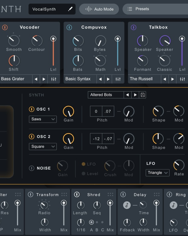 iZotope's Nectar Elements is an Impressive All-In-One Vocal