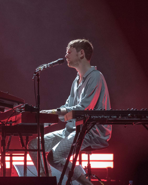 James Blake Governors Ball 2018
