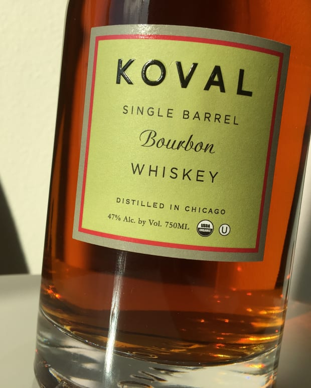 Koval Single Barrel Bourbon Whiskey