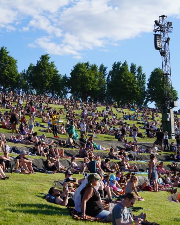 Sasquatch Festival 2018 The Crowd