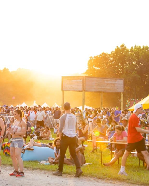 Firefly Festival 2018 Sunset