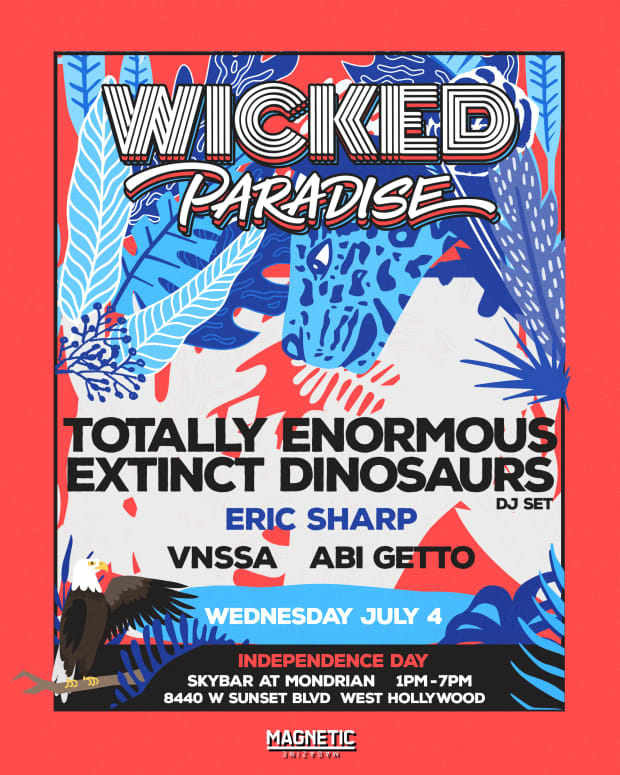 Wicked Paradise Totally Extinct Dinosaurs July 4 2018