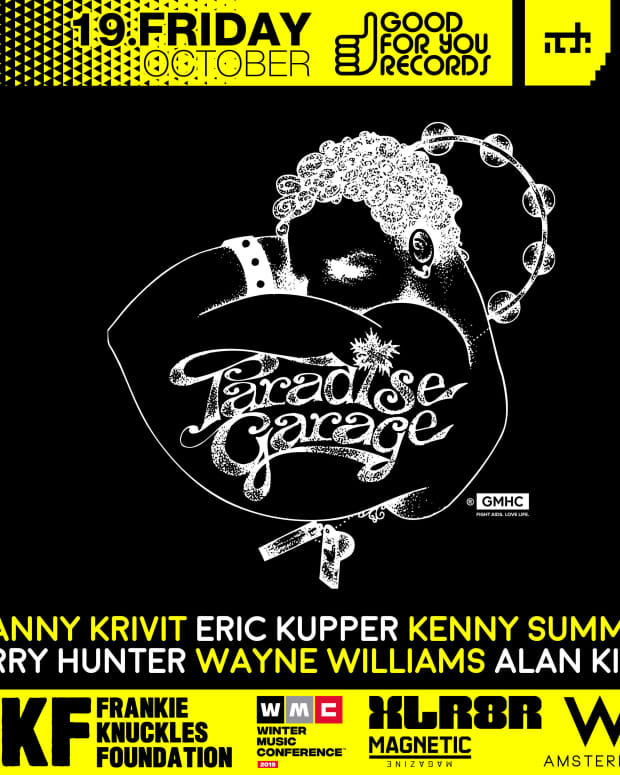 ADE Good For You Records Party Paradise Garage