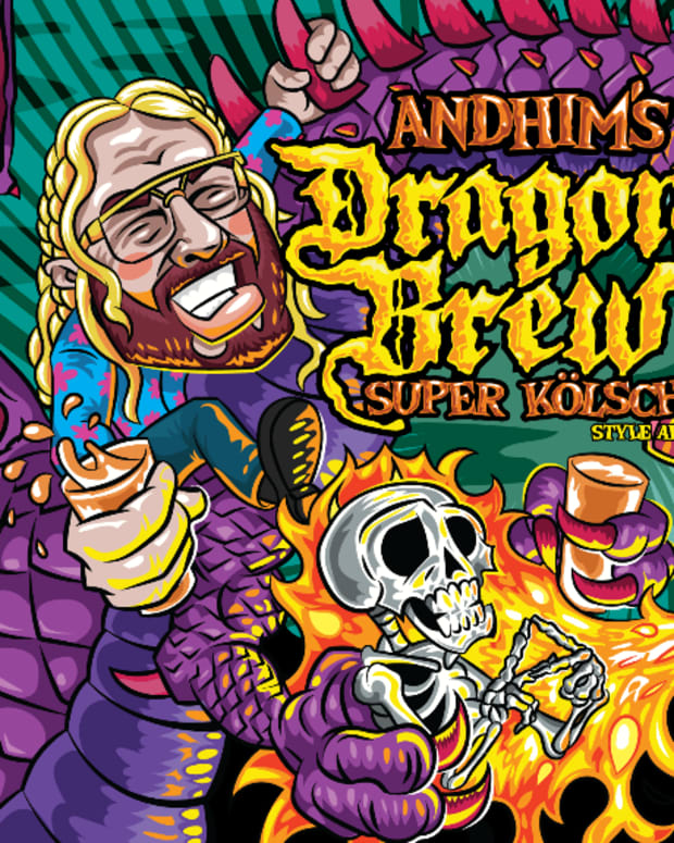 Andhim Dragon Brew Super Kolsch Beer