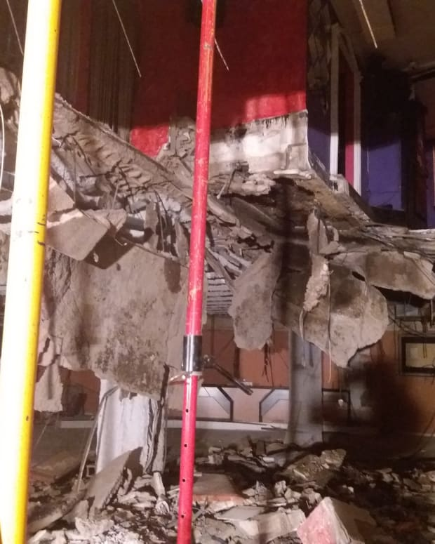 Tenerife Club Collapse