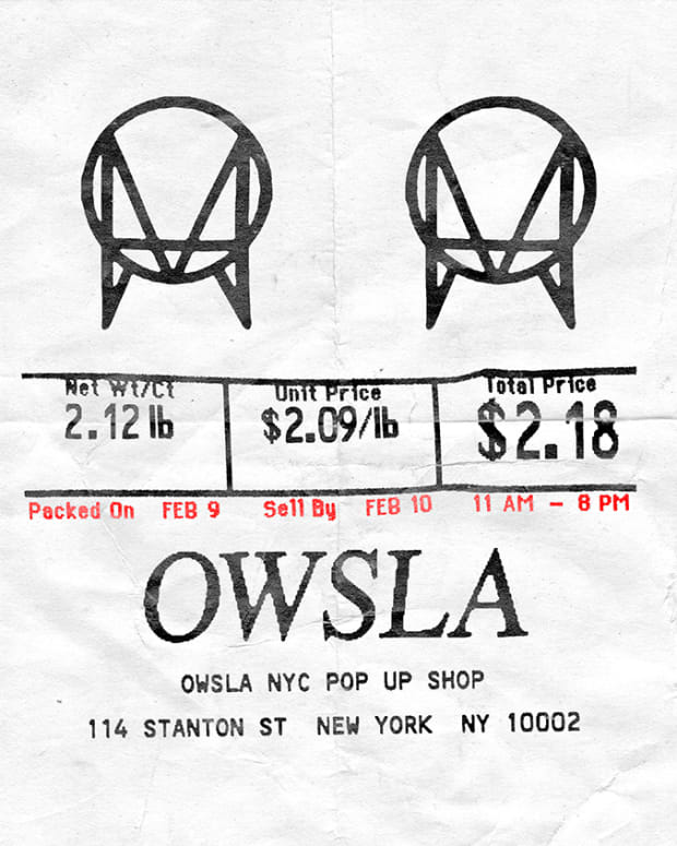 OWSLA Pop Up Shop NYC 2018