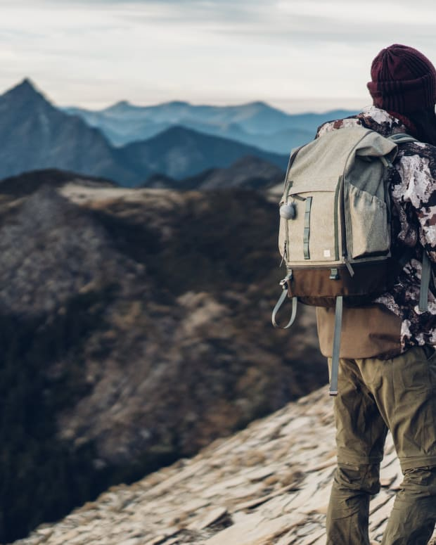 Captus Backpack In Nature Mountain Hiking