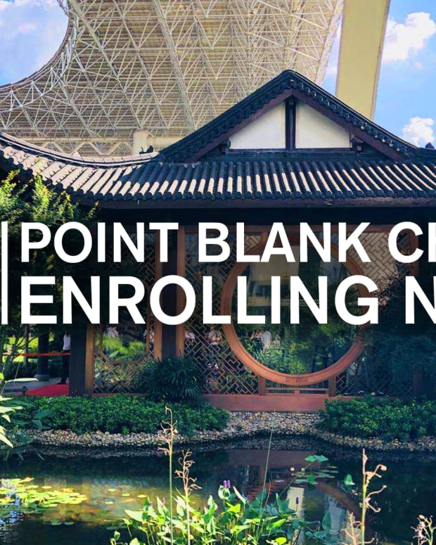 China Now Enrolling Point Blank