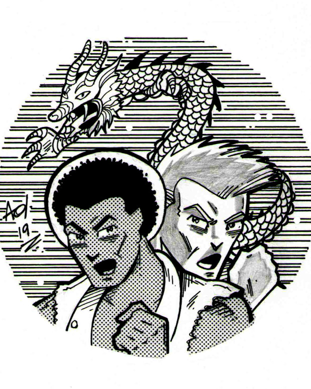 Double Dragon EP Cover Art
