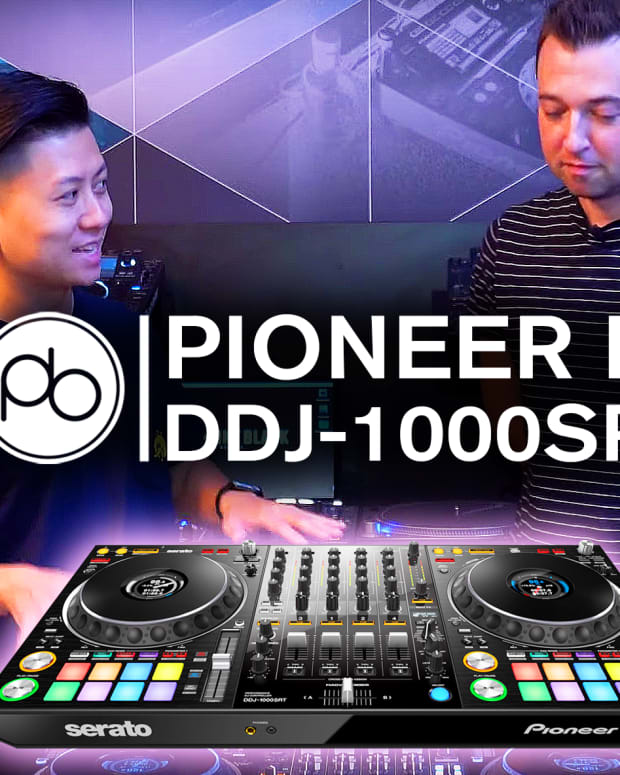 Pioneer DJ DDJ-1000SRT Point Blank