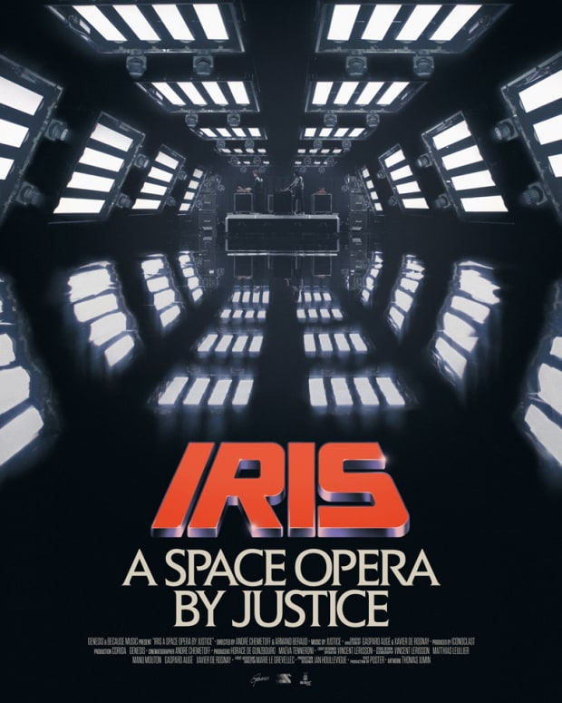 Justice Iris A Space Opera Poster