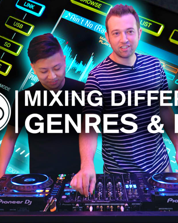Mixing Different Genres & BPM Point Blank