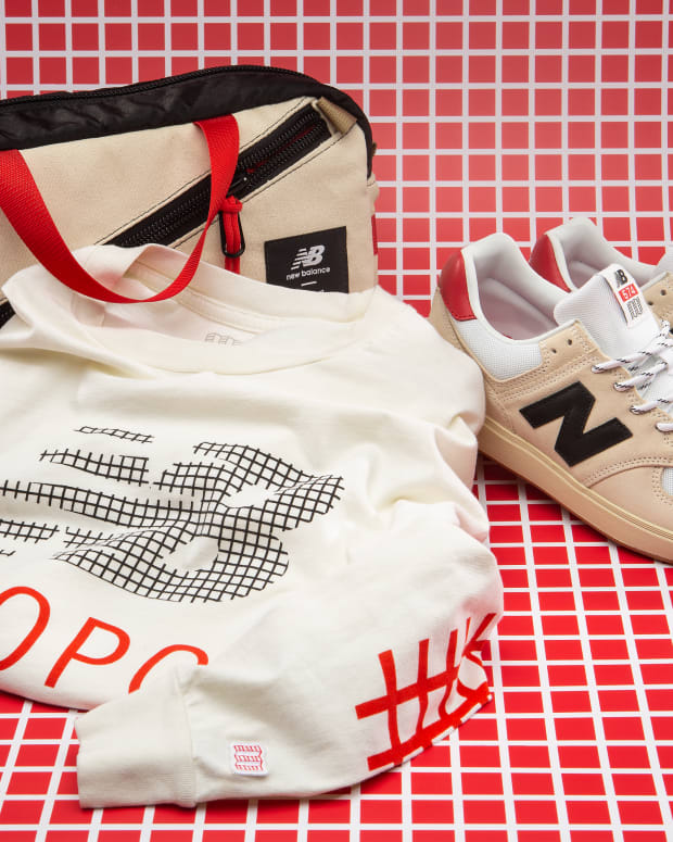 Topo Designs & New Balance Bags, Shirt, Sneakers