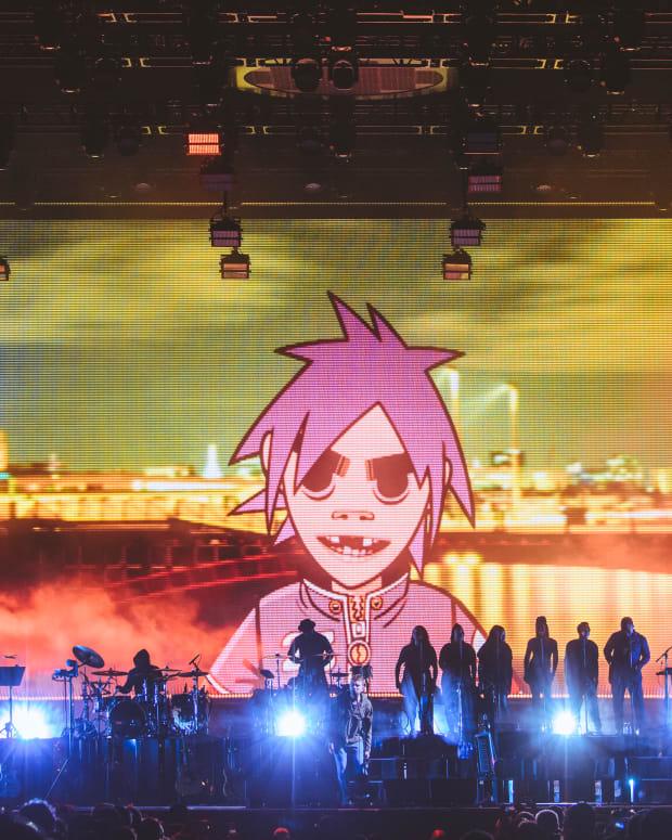 Gorillaz Meadows Festival 2017