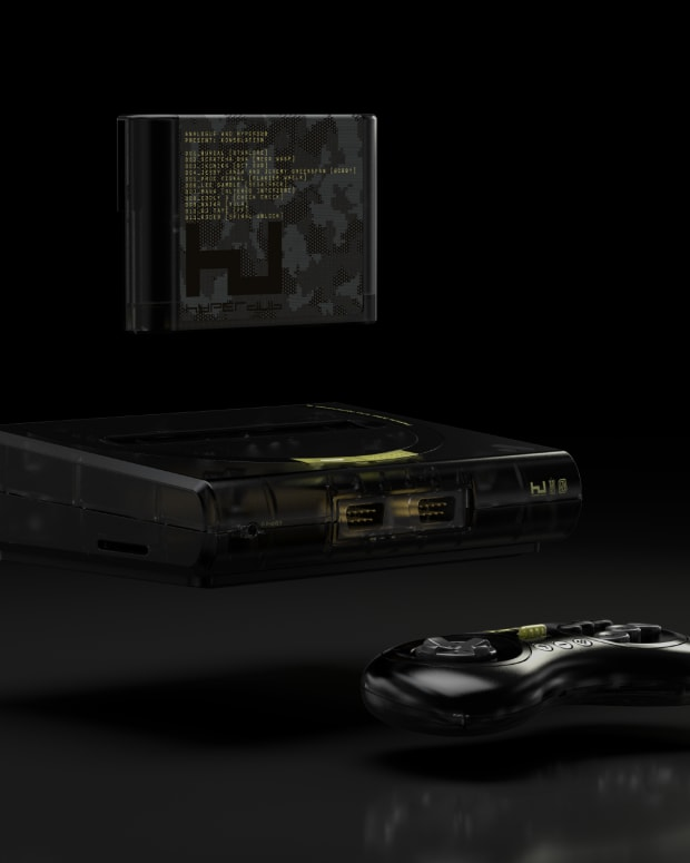 Hyperdub Analogue Sega Console Cartridge
