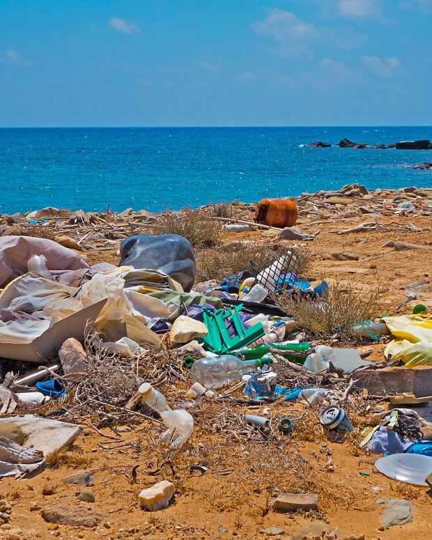 Garbage Plastic Beach