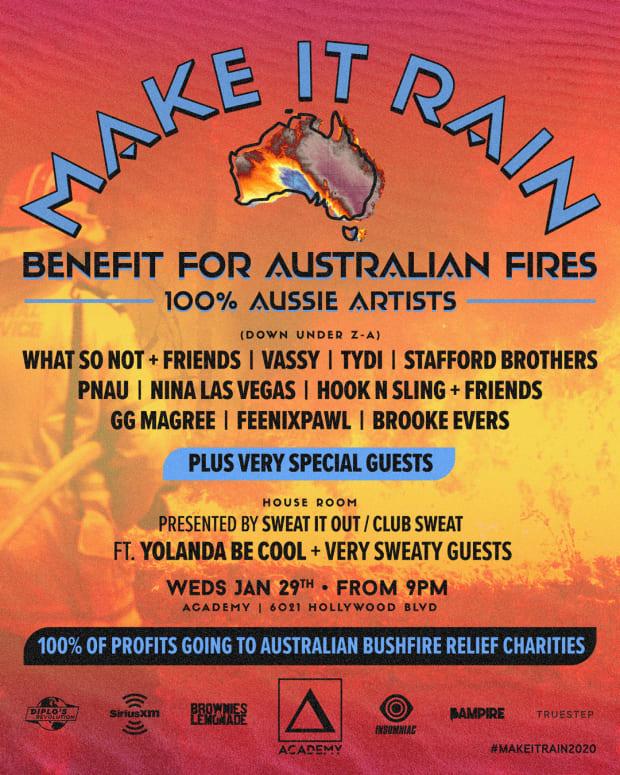 Australia Wildfire Benefit Show LA 2020