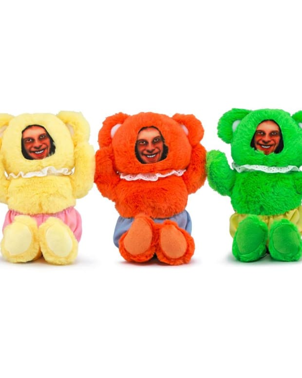 Aphex twin teddy bear