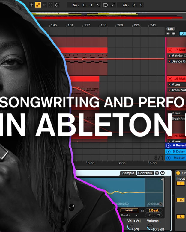 Songwriting and Performance in Ableton Point Blank