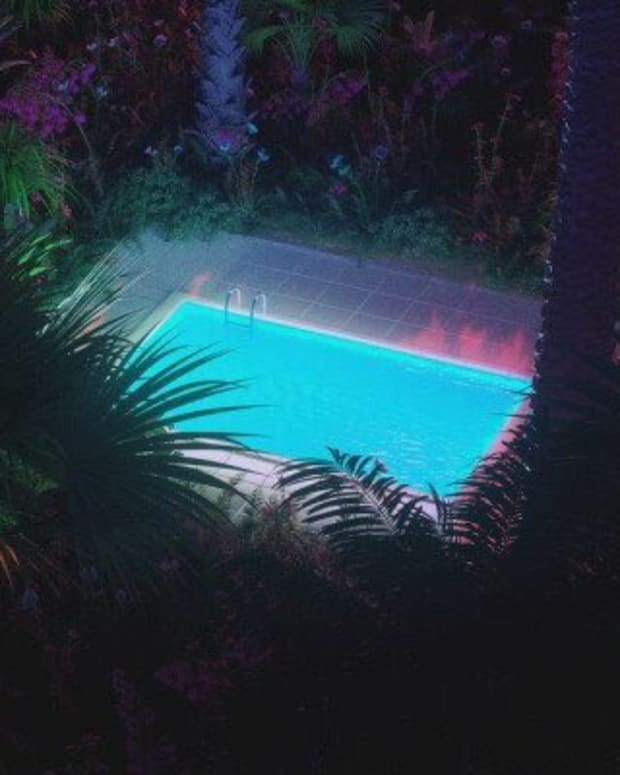 Hotel Pools. Artwork by Blunt Action.