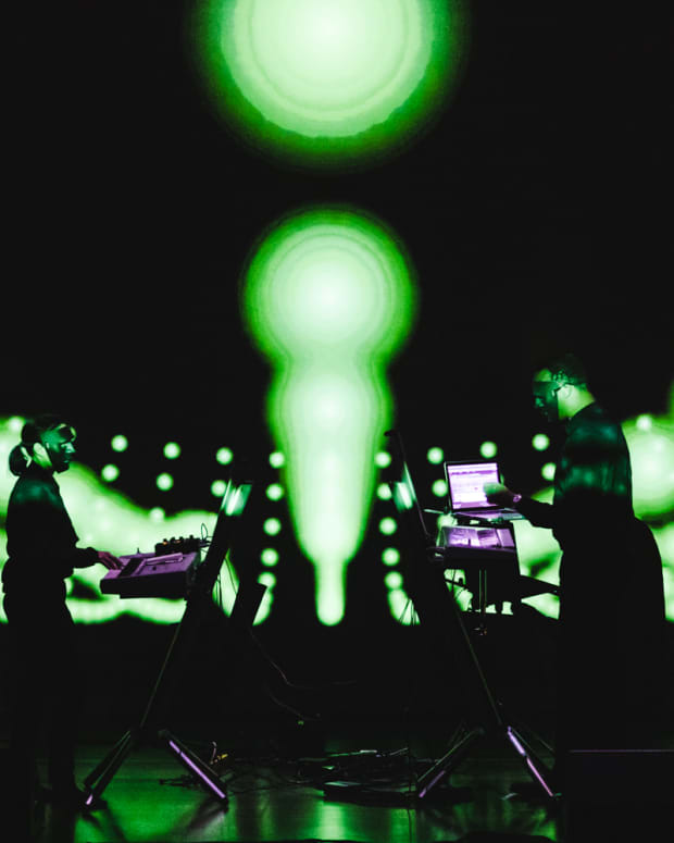Mutek SF 2019 Festival Dopplereffekt Lights