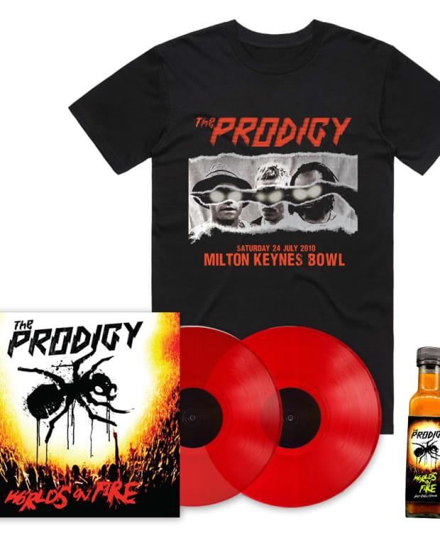 the prodigy world's on fire box set