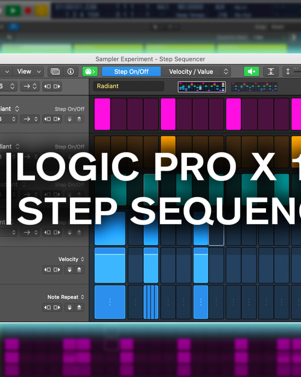 Logic 10.5 Step Sequencer Point Blank