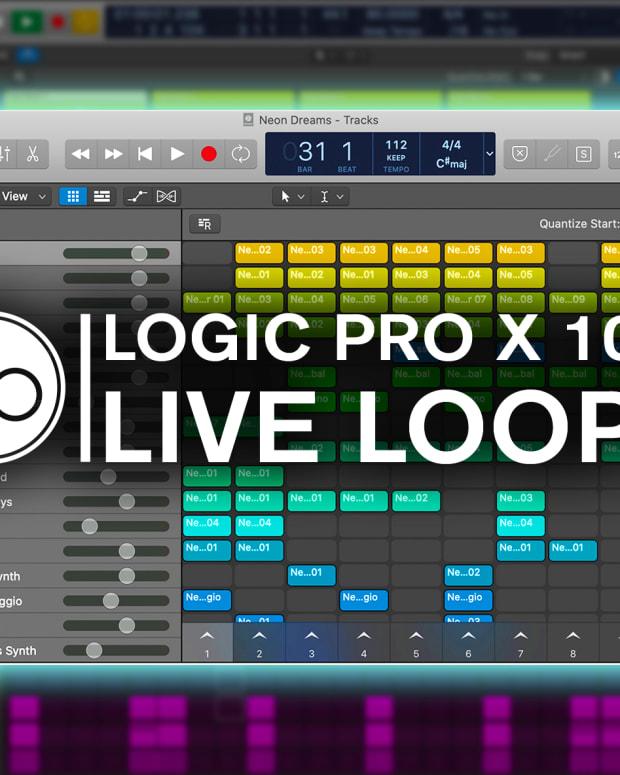 Logic Pro X Live Loops