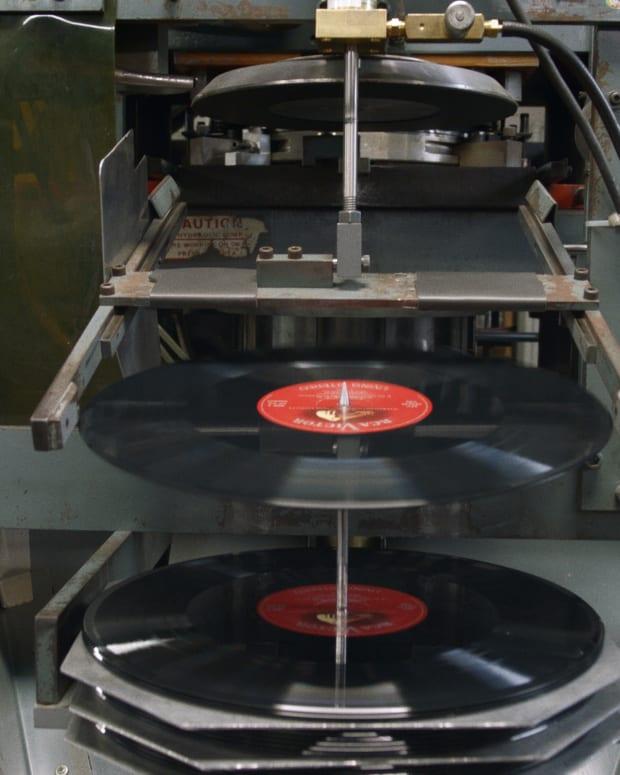 Vinyl Nation Record Plant Pressing