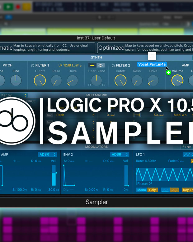 Logic Pro Point Blank Sampler 10.5