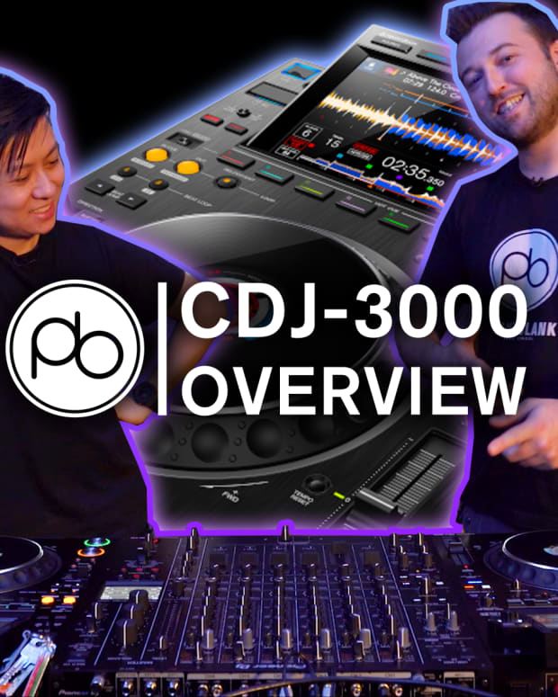 CDJ-3000 Overview Point Blank