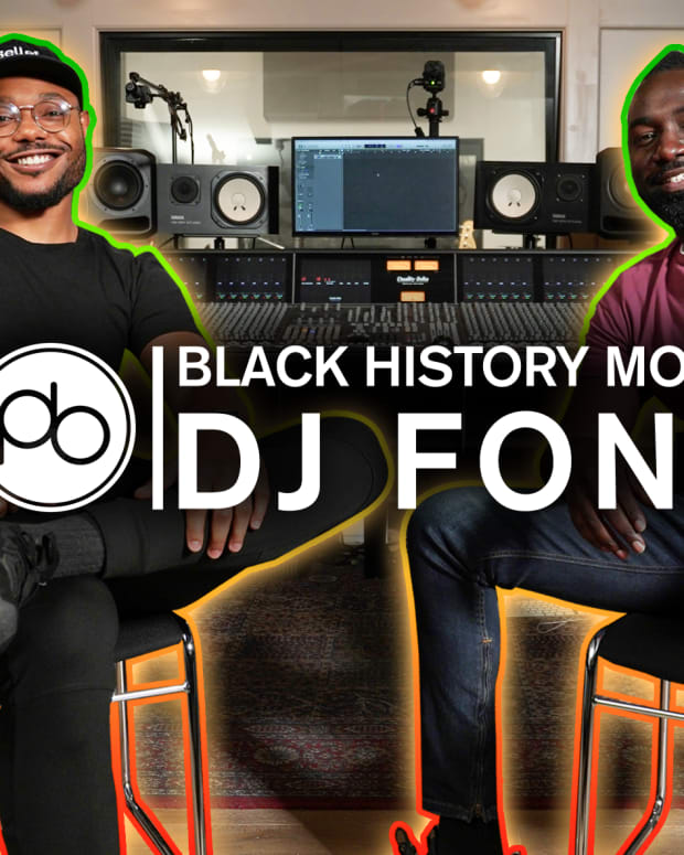 DJ Fonti Black History Month Point Blank