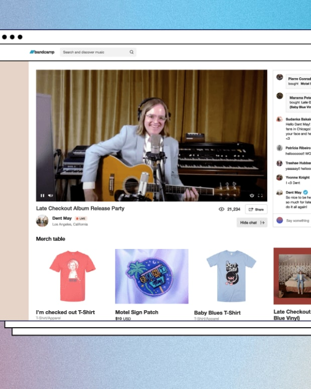Bandcamp Live Streaming