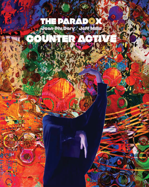 Jeff Mills Jean-Phi Dary The Paradox Counter Active LP Cover Art