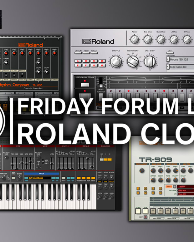 Friday Forum Live Roland Cloud Point Blank