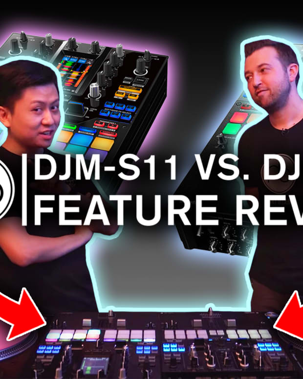Pioneer DJ DJM-S11 vs DJM-S9 Feature Review Comparison Point Blank